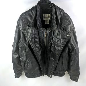 Vintage Mens motorcycle jacket